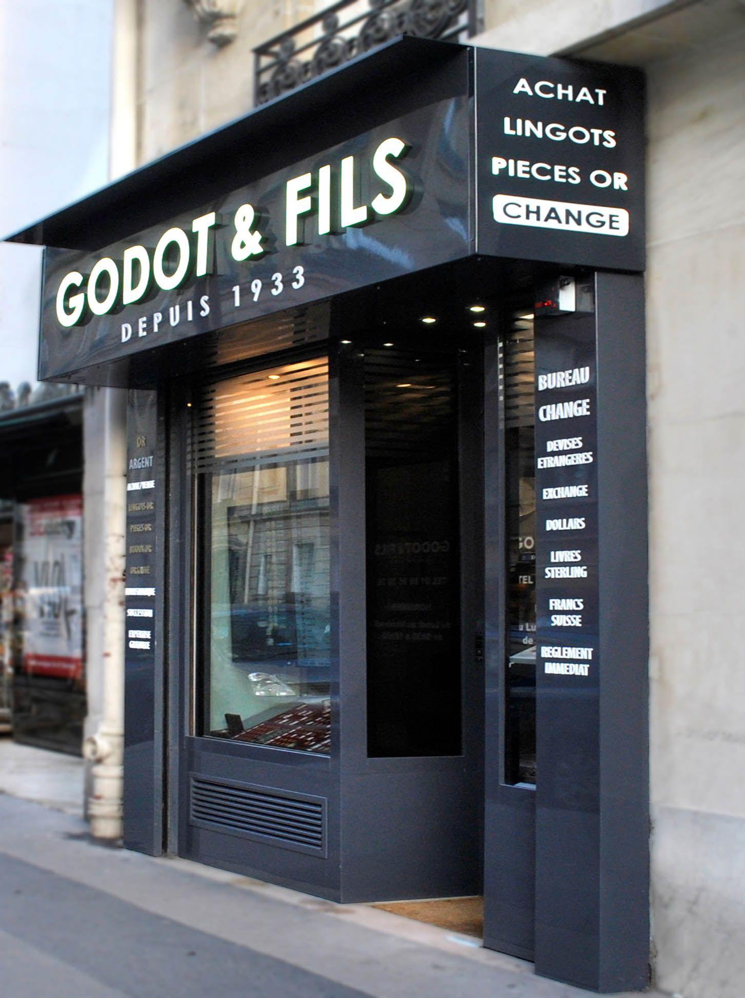 Change Mtaux prcieux Neuilly sur Seine 92 Godot Fils