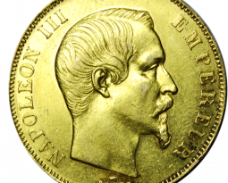 Choisir la 50 Francs Napoléon III Tête Nue
