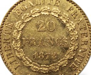 20 francs Or Napoléon