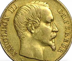 20 Francs Or napoléon 3