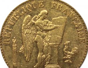 20 francs or napoélon