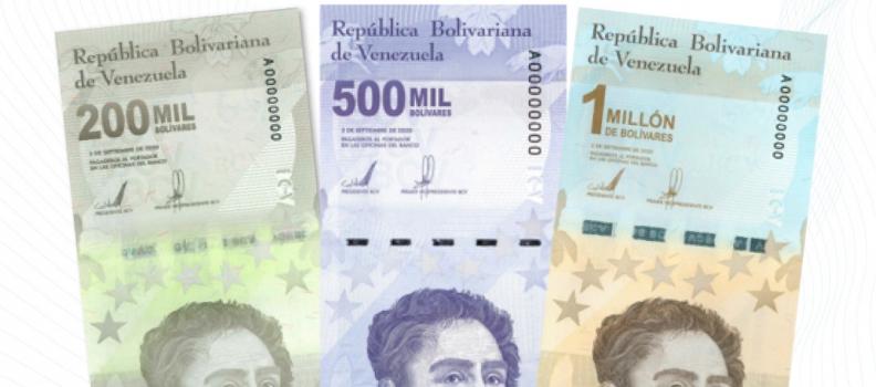 Marché des devises : le Venezuela imprime un billet de 1 million de Bolivars